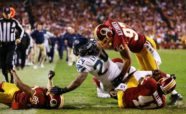 Wilson And Lynch Help Hawks Race Past Redskins 24-14 In Wild Ca…