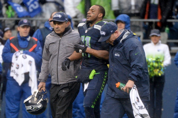 WR Harvin To Miss NFC Title Game With Effects From Concussion