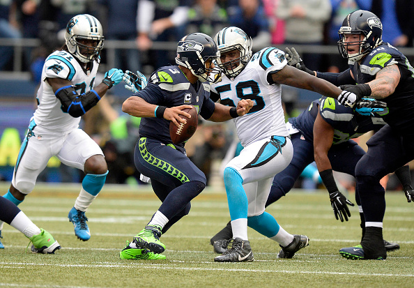 Panthers at Seahawks